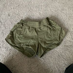 Green LuLu shorts